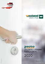 Zecto Fertigtüren 2020